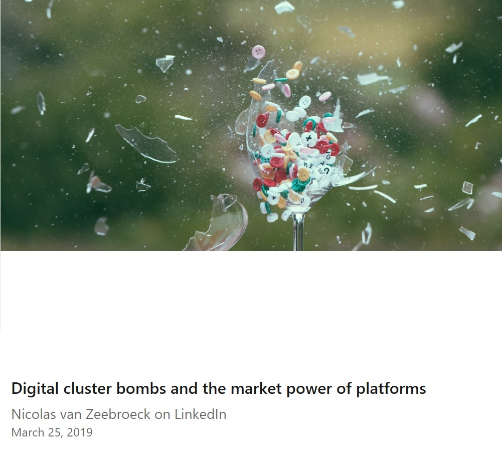 Digital cluster bombs and platform market power (on LinkedIn)