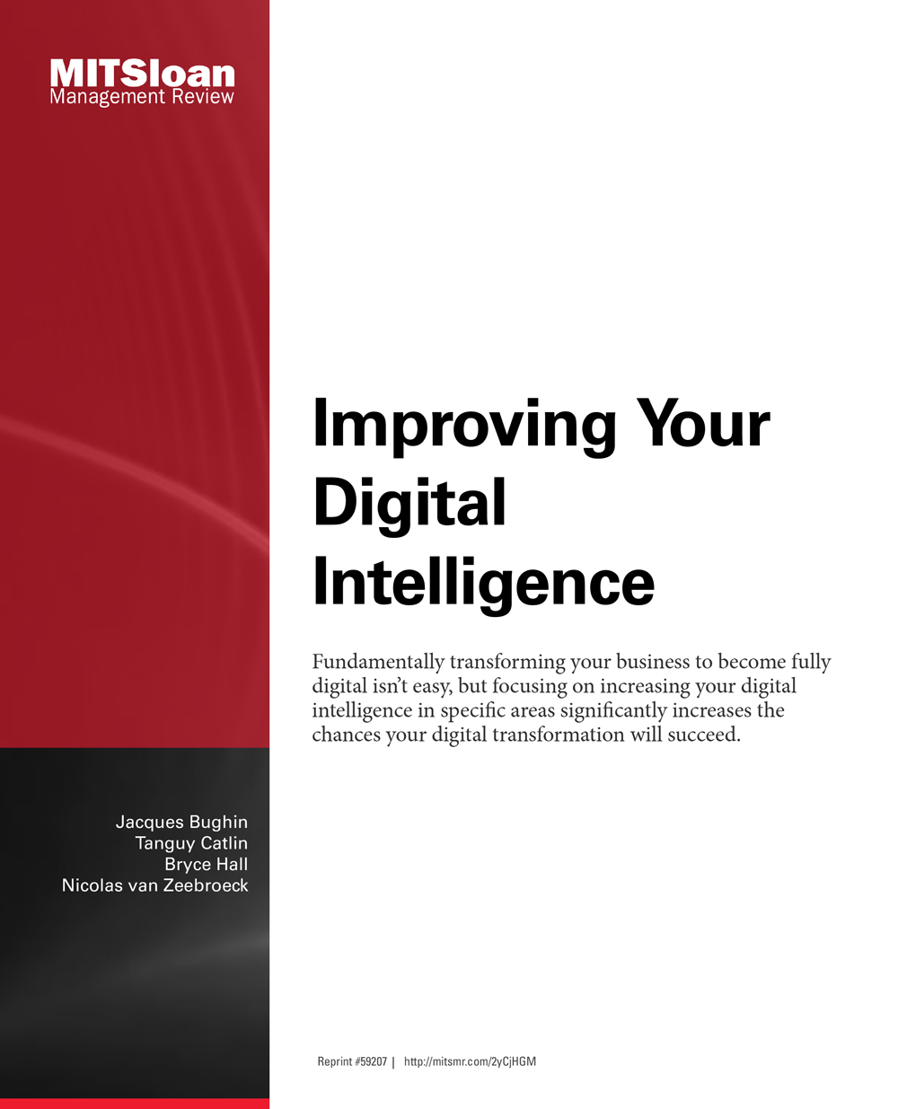 Improving your digital intelligence (MIT Sloan)